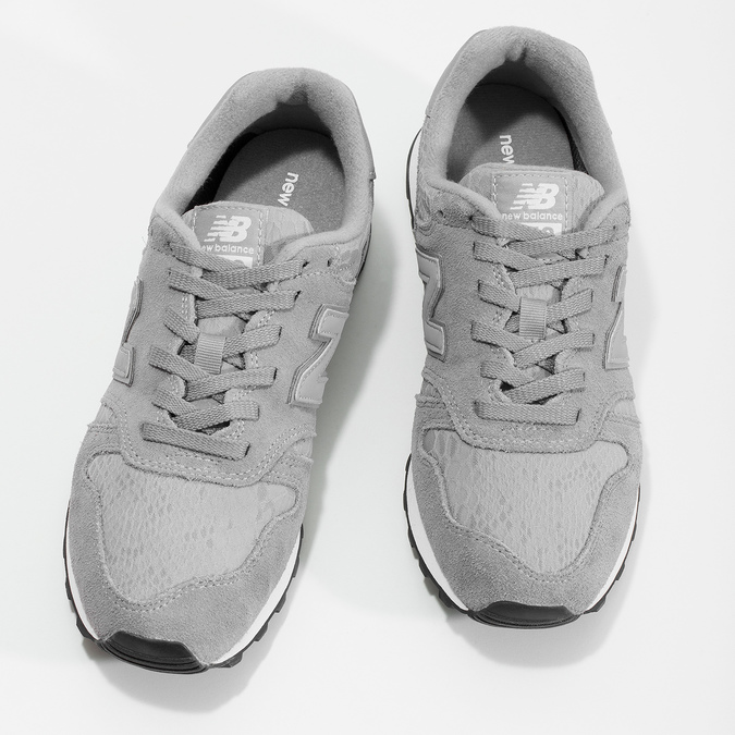 Šedé dámské tenisky new-balance, šedá, 503-2874 - 16