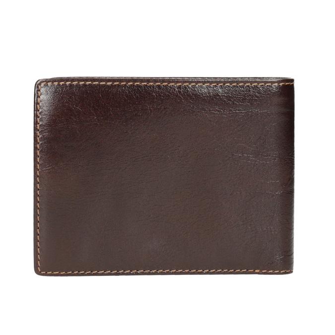 Pánská kožená peněženka bata, hnědá, 944-4191 - 16