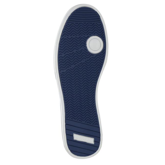 Kožené pánské tenisky modré power, modrá, 803-9860 - 17