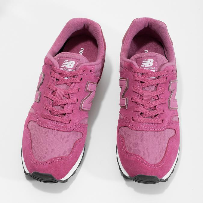 Dámské tenisky sportovního střihu růžové new-balance, růžová, 503-5874 - 16