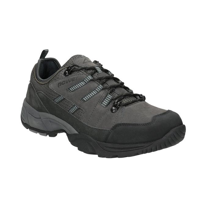 Pánská obuv v outdoor stylu power, šedá, 803-2849 - 13