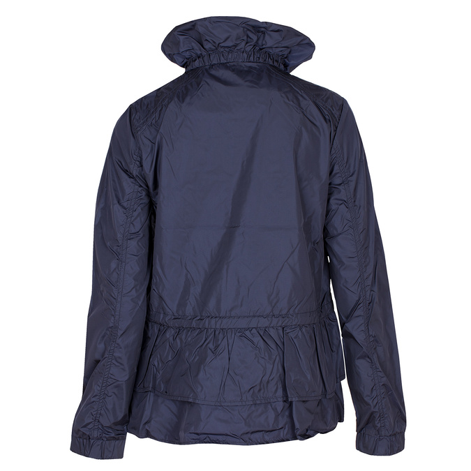 Dámská bunda s volánky bata, modrá, 979-9107 - 26
