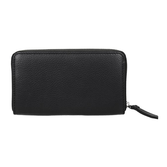 Kožená dámská peněženka černá bata, černá, 944-6190 - 16