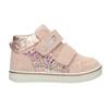 Dětská kotníčková kožená obuv dívčí bubblegummers, růžová, 123-5606 - 26