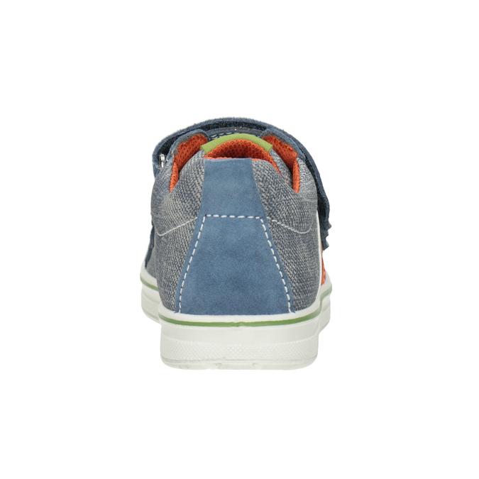 Dětské tenisky v denimovém designu mini-b, modrá, 213-9600 - 16