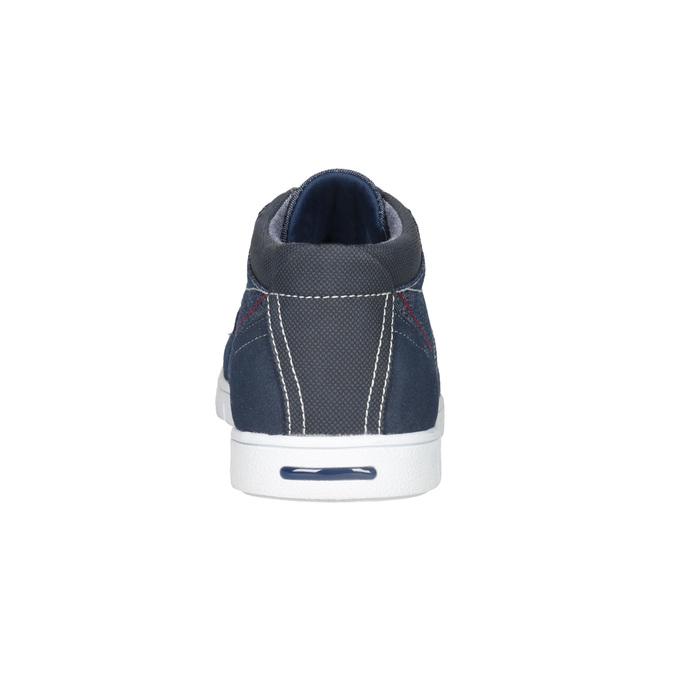Ležérní tenisky v denimovém designu north-star, modrá, 841-9613 - 15