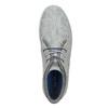 Ležérní šedé tenisky ke kotníkům north-star, šedá, 841-2613 - 17