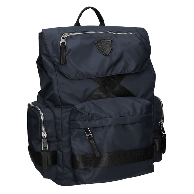 Modrý textilní batoh pánský atletico, modrá, 969-9677 - 13