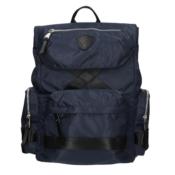 Modrý textilní batoh pánský atletico, modrá, 969-9677 - 26