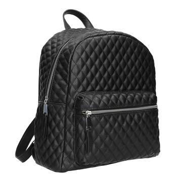 Městský batoh s prošíváním bata, černá, 961-6923 - 13