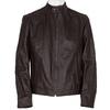 Hnědá kožená bunda pánská bata, hnědá, 974-4154 - 13
