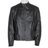 Pánská kožená bunda černá bata, černá, 974-6134 - 13