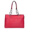Červená dámská kabelka bata, červená, 961-5343 - 26