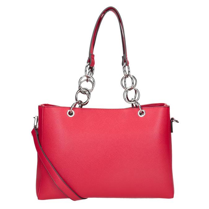 Červená dámská kabelka bata, červená, 961-5343 - 16