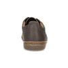 Kožené polobotky s prošitím na špici clarks, hnědá, 826-4026 - 15