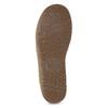 Kožené polobotky s prošitím na špici clarks, hnědá, 826-4026 - 18