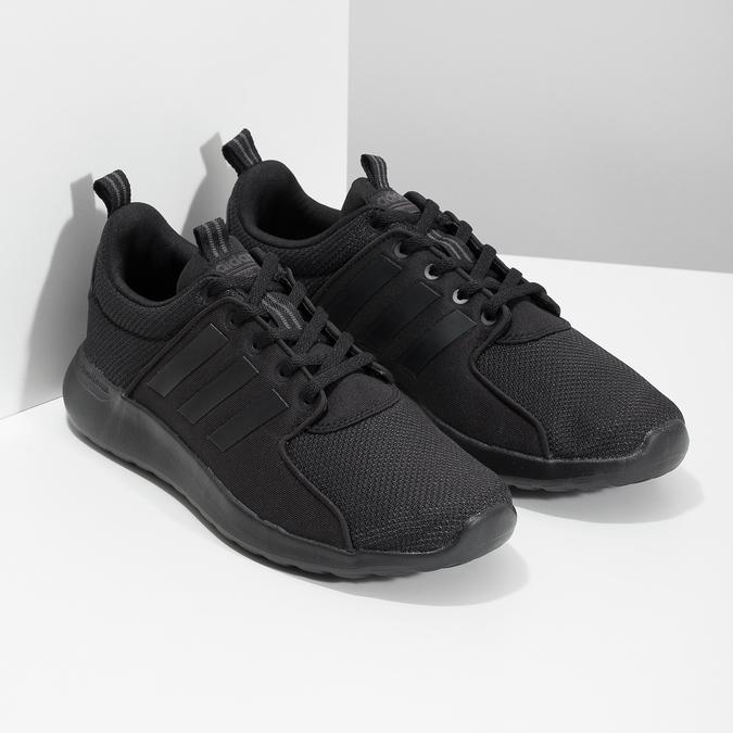 Pánské černé tenisky sportovního stylu adidas, černá, 809-6268 - 26