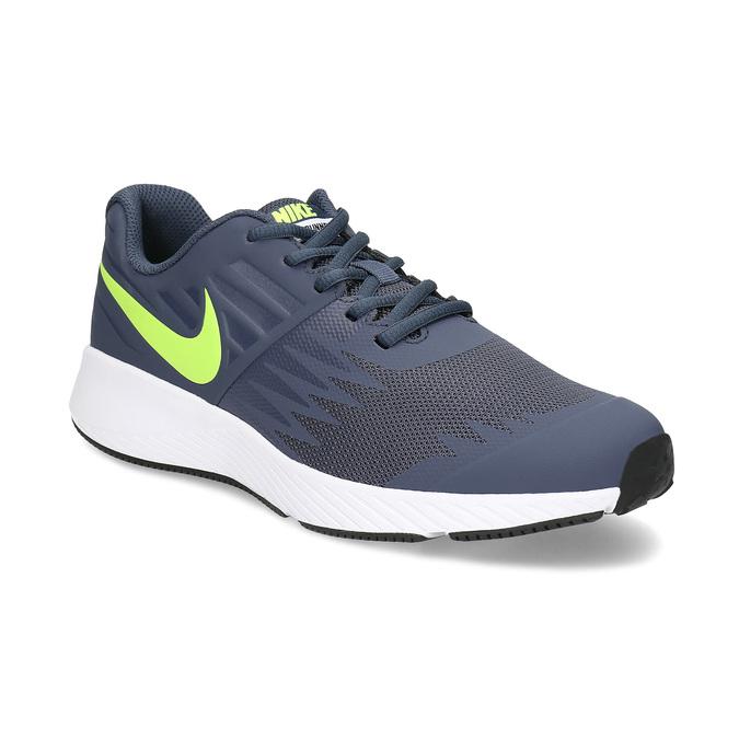 Dětské tenisky sportovního střihu nike, modrá, šedá, 409-9189 - 13