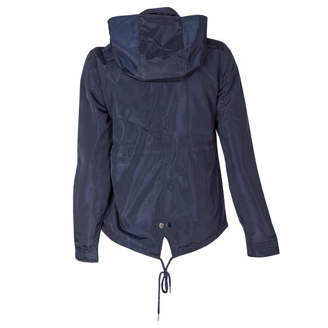 Dámská modrá bunda s kapucí bata, modrá, 979-9109 - 26