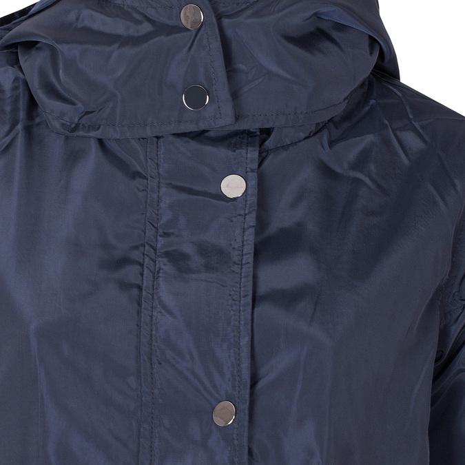 Dámská modrá bunda s kapucí bata, modrá, 979-9109 - 16