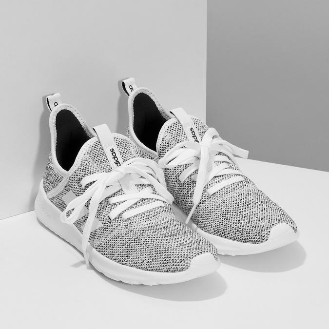 Tenisky s vykrojením v patní části adidas, šedá, 509-2569 - 26