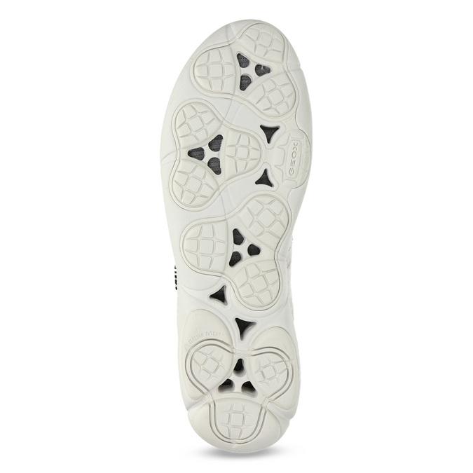 Dámské kožené bílé tenisky geox, béžová, 549-1001 - 18