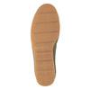 Ležérní kožené baleríny šíře G gabor, khaki, 623-7053 - 17