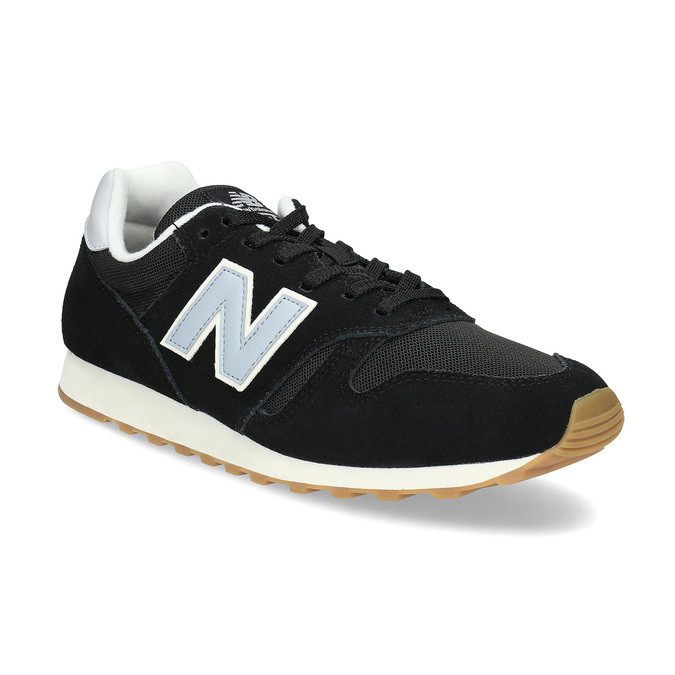Pánské kožené tenisky New Balance 373 new-balance, černá, 803-6207 - 13