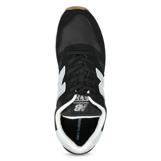 Pánské kožené tenisky New Balance 373 new-balance, černá, 803-6207 - 17