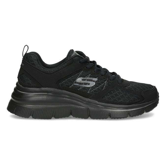 Černé sportovní Skechers tenisky skechers, černá, 509-6321 - 19