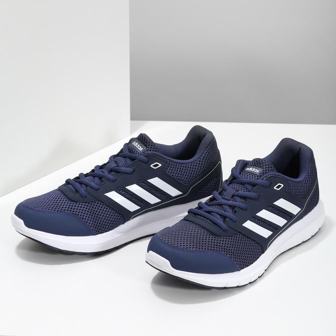 Pánské tmavě modré sportovní tenisky adidas, modrá, 809-9396 - 16