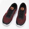 Pánské tenisky s pleteným svrškem nike, červená, 809-5716 - 16