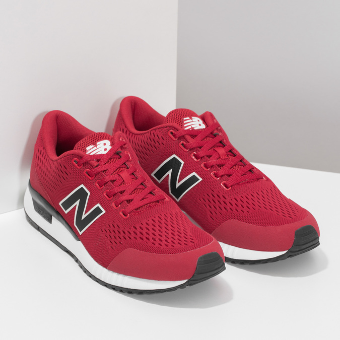 Pánské červené tenisky New Balance new-balance, červená, 809-5739 - 26