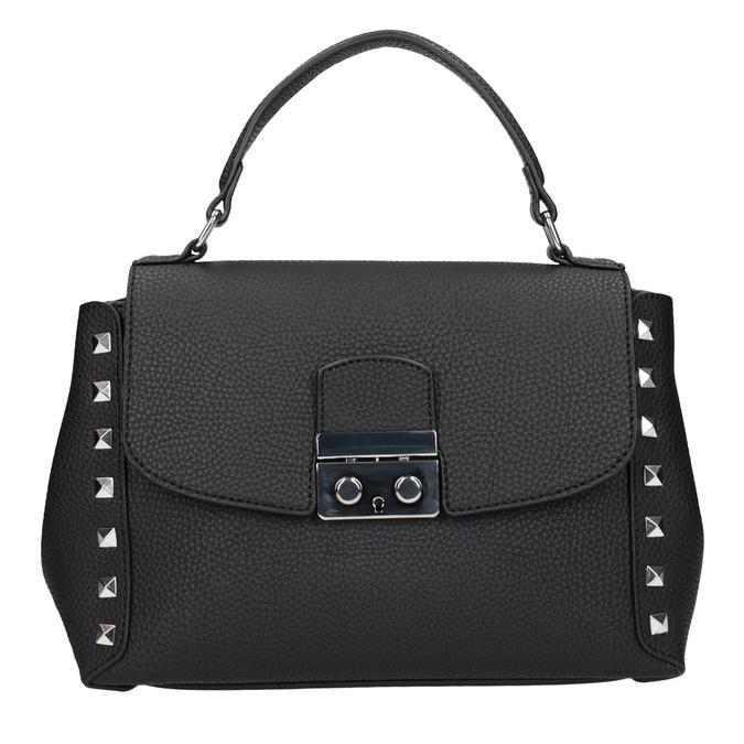 Černá crossbody kabelka se cvočky bata, černá, 961-6279 - 26