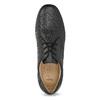 Černé pánské polobotky s pohodlnou podešví comfit, černá, 824-6996 - 17
