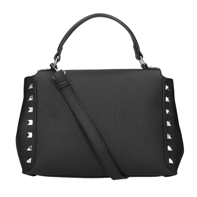 Černá crossbody kabelka se cvočky bata, černá, 961-6279 - 16