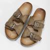 Pánské kožené nazouváky bata, hnědá, 866-4648 - 16