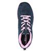 Dámské sportovní tenisky modré skechers, modrá, 509-9318 - 17