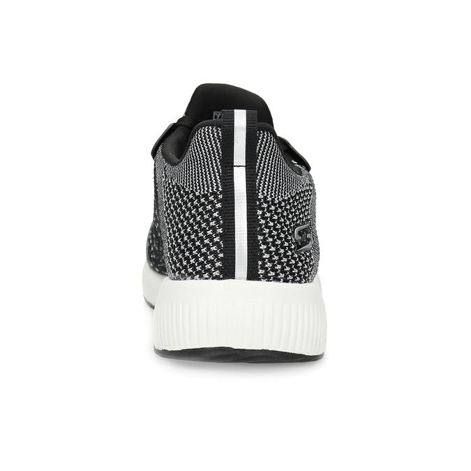 Dámské černo-bílé tenisky skechers, černá, 509-6990 - 15