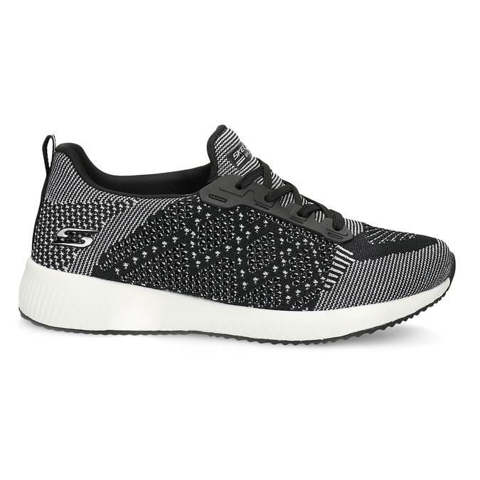 Dámské černo-bílé tenisky skechers, černá, 509-6990 - 19