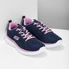 Dámské sportovní tenisky modré skechers, modrá, 509-9318 - 26