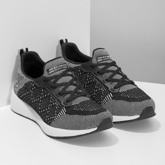 Dámské černo-bílé tenisky skechers, černá, 509-6990 - 26