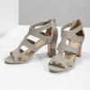 Sandály na stabilním podpatku insolia, béžová, 769-8617 - 16