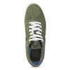 Pánské kožené khaki tenisky nike, zelená, 803-7712 - 17
