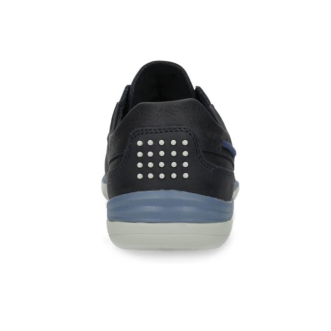 Pánské kožené tenisky modré tbs-, modrá, 826-9054 - 15