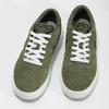 Pánské kožené khaki tenisky nike, zelená, 803-7712 - 16