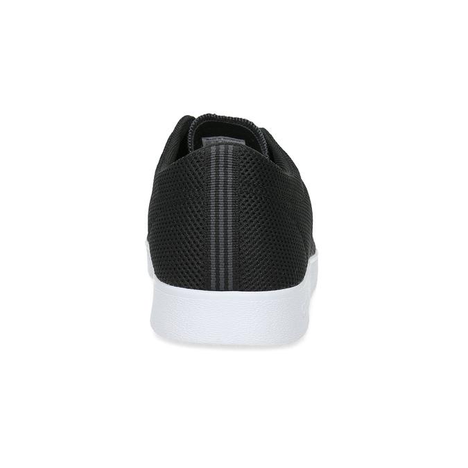 Pánské černé tenisky síťované adidas, černá, 809-6422 - 15