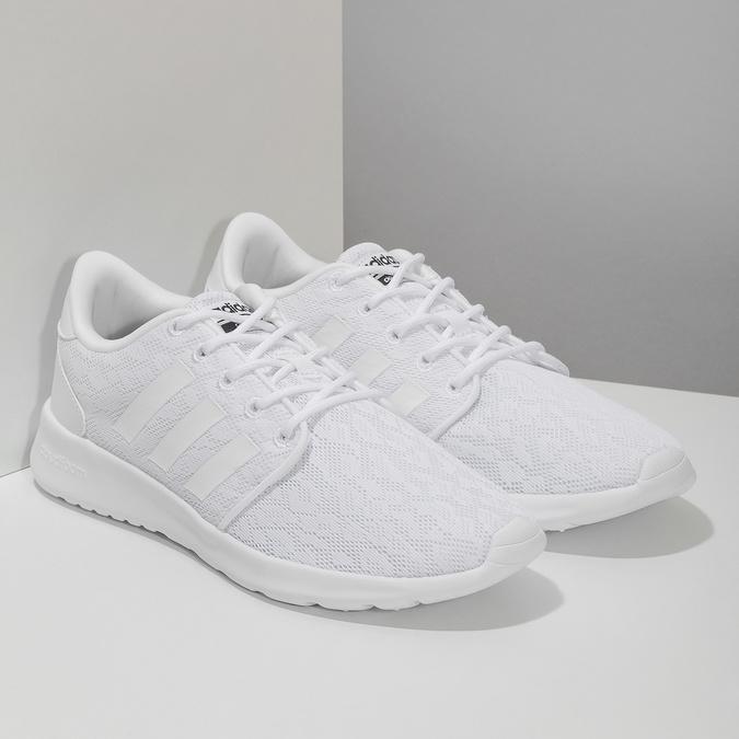 Bílé dámské tenisky s krajkou adidas, bílá, 509-1112 - 26