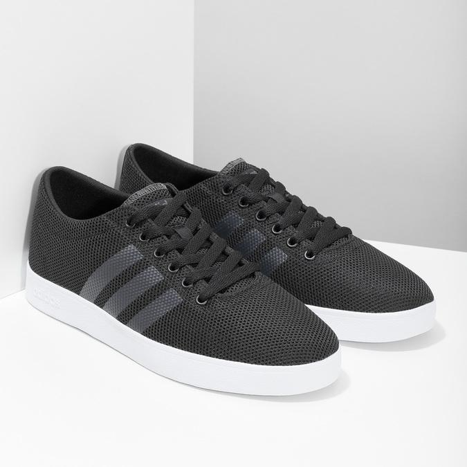 Pánské černé tenisky síťované adidas, černá, 809-6422 - 26
