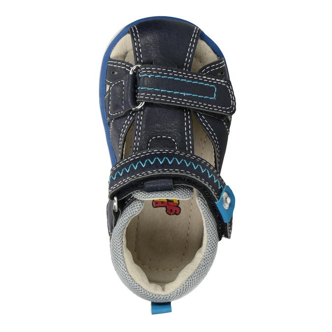 Modré dětské sandály bubblegummers, modrá, 161-9605 - 17